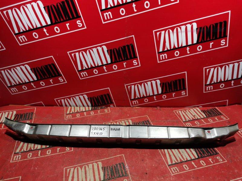 Усилитель бампера Toyota Nadia SXN10 3S-FE 1996 передний серебро