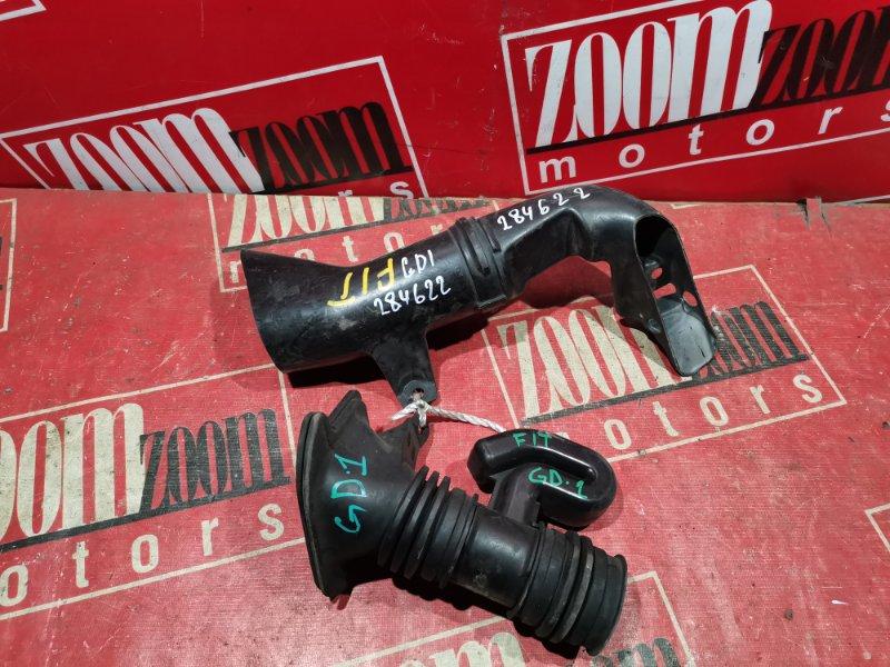 Воздухозаборник Honda Fit GD1 L15A 2001