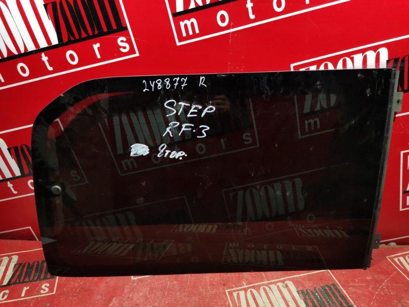 Стекло собачника Honda Stepwgn RF3 K20A 2001 заднее правое