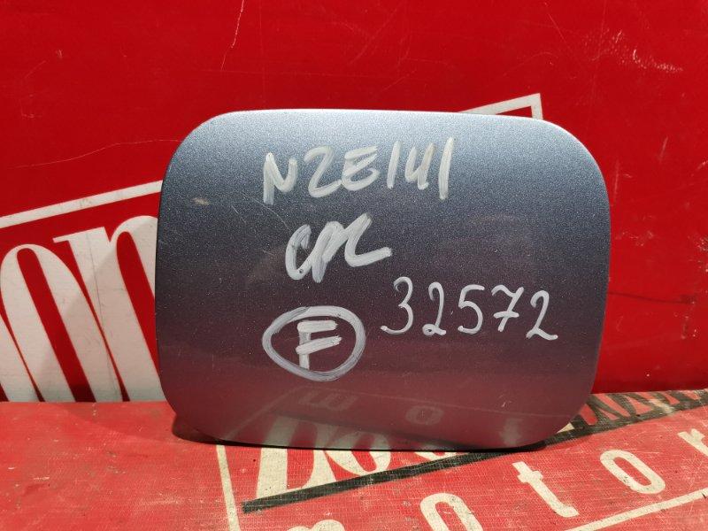 Лючок топливного бака Toyota Corolla Fielder NZE141 2006 голубой