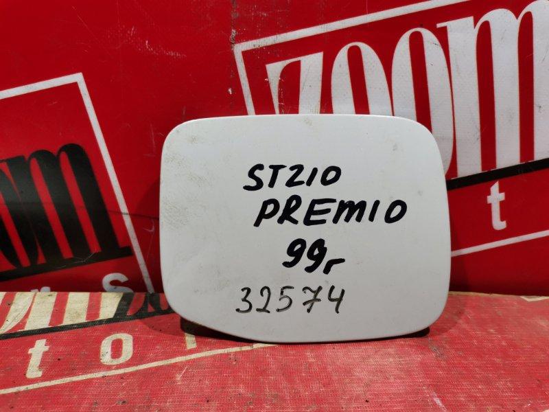 Лючок топливного бака Toyota Corona Premio ST210 белый перламутр