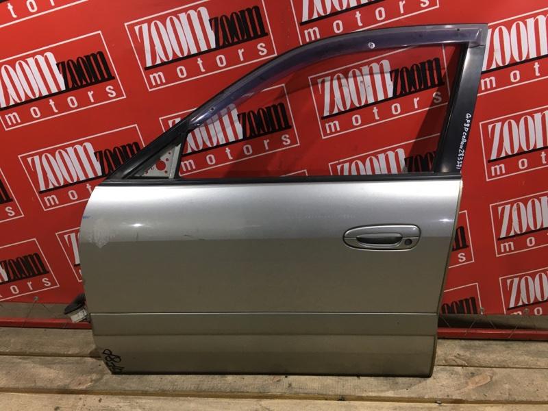 Дверь боковая Mazda Capella GF8P FP-DE 1997 передняя левая серебро