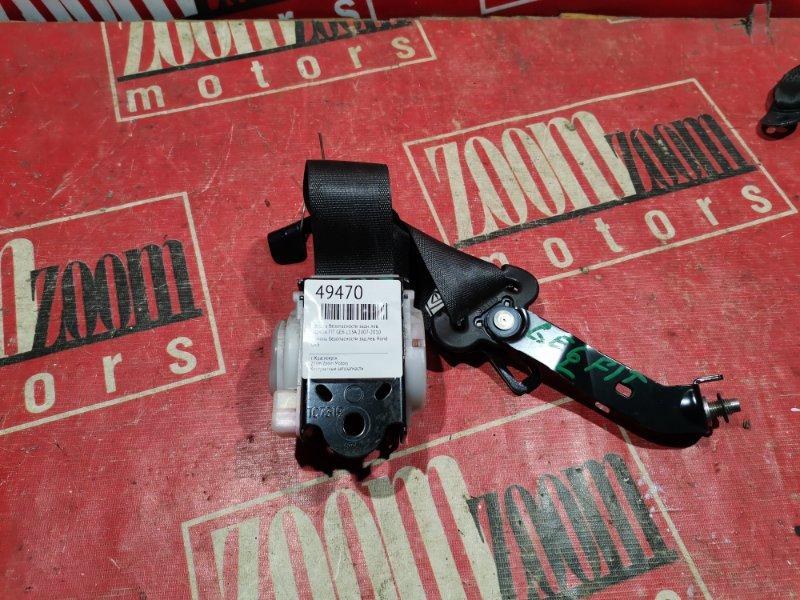 Ремень безопасности Honda Fit GE6 L13A 2007 задний левый