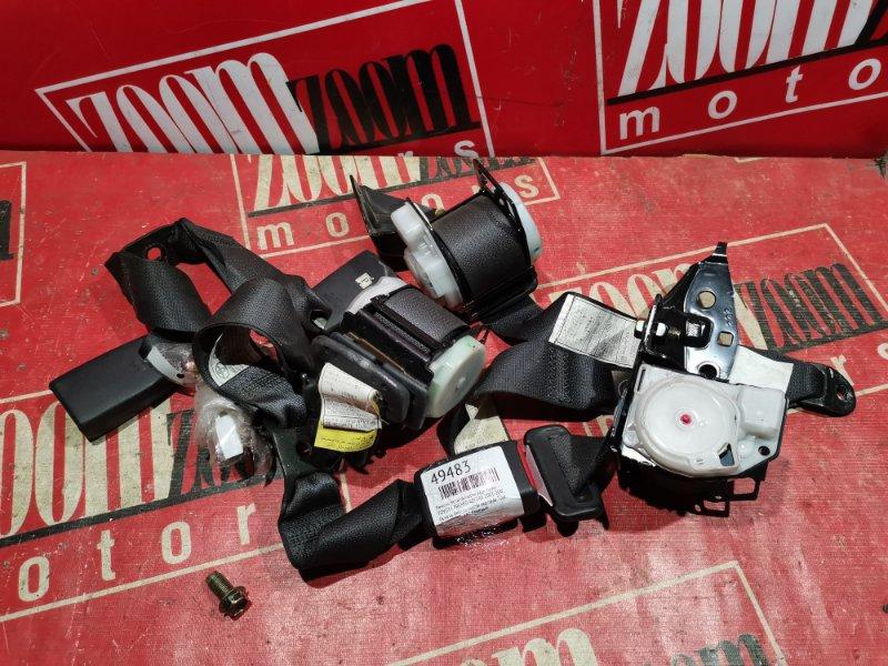 Ремень безопасности Toyota Premio AZT240 2001 задний черный