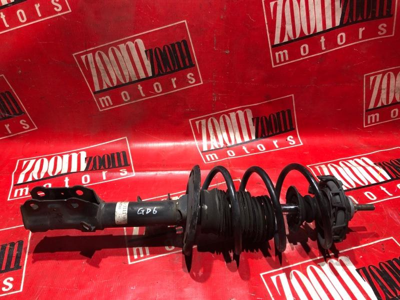 Стойка подвески Honda Fit Aria GD6 L15A 2005 передняя левая