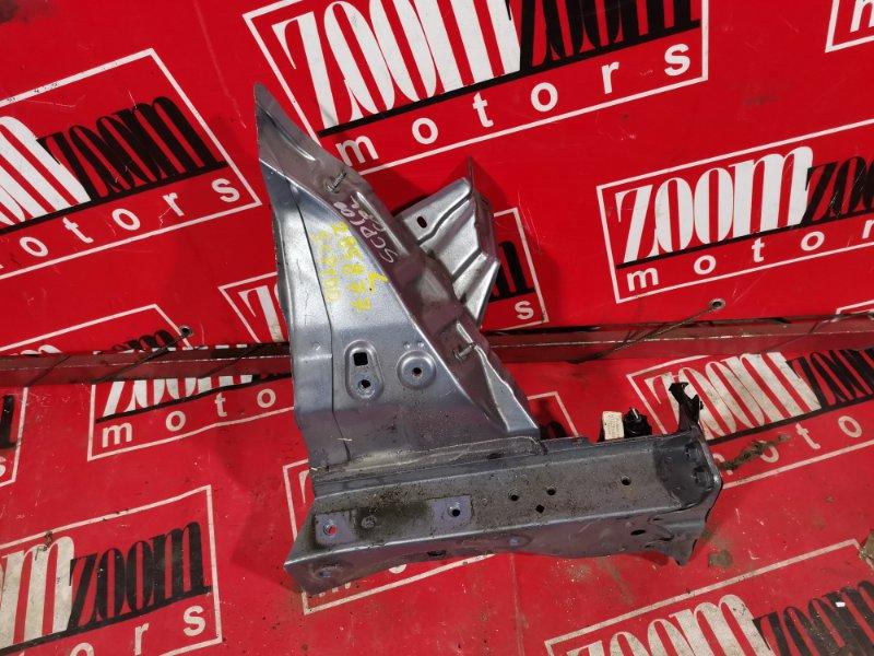 Лонжерон Toyota Ractis NCP100 1NZ-FE 2005 передний левый голубой