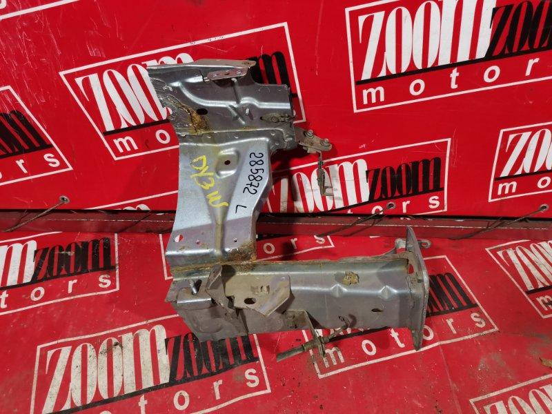 Лонжерон Mazda Demio DY3W ZJ-VE 2002 передний левый голубой