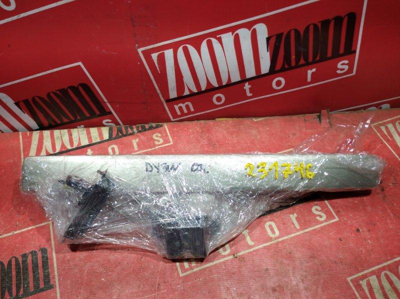 Ручка наружная Mazda Demio DY3W ZY-VE 2003 задняя серебро