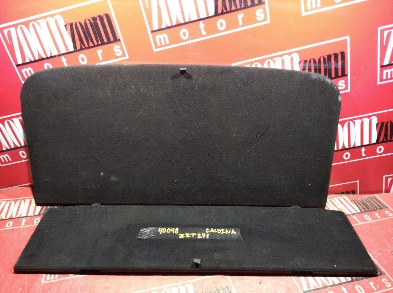 Обшивка багажника Toyota Caldina AZT241 2002 задняя черный