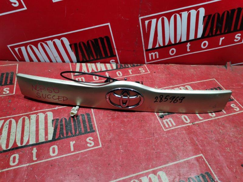 Ручка наружная Toyota Succeed NCP50 1NZ-FE 2002 задняя золото