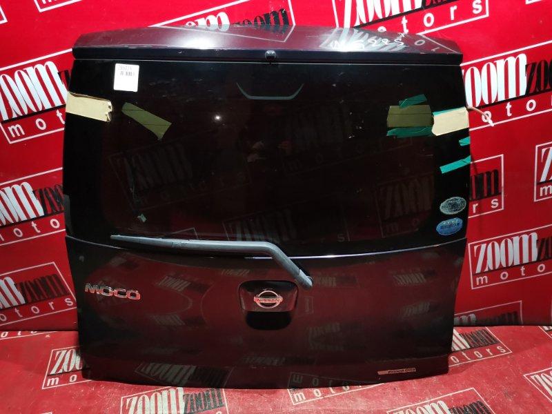 Дверь задняя багажника Nissan Moco MG22S K6A 2006 задняя фиолетовый
