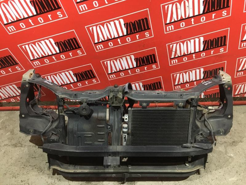 Рамка радиатора Suzuki Wagon R Solio MA34S M13A 1999 передняя черный