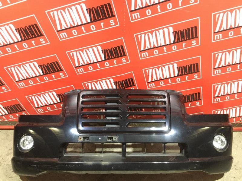 Бампер Suzuki Wagon R Solio MA34S M13A 1999 передний черный