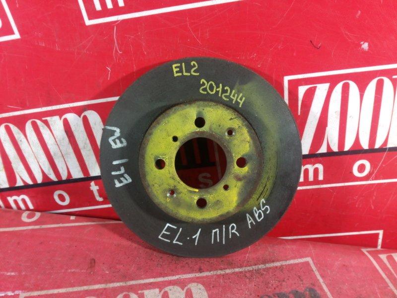 Диск тормозной Honda Orthia EL2 B18B передний
