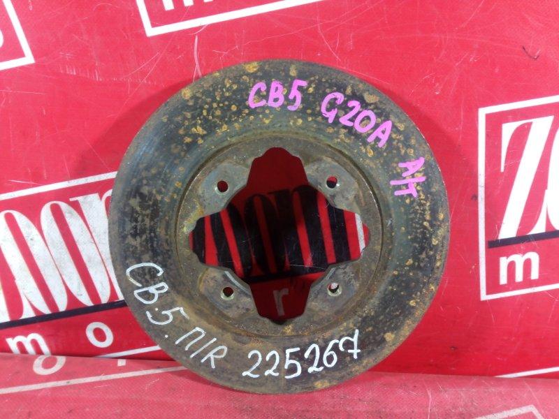 Диск тормозной Honda Accord Inspire CB5 G20A 1989 передний