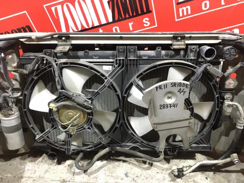 Радиатор двигателя Nissan Presea PR11 SR18DE 1995 передний