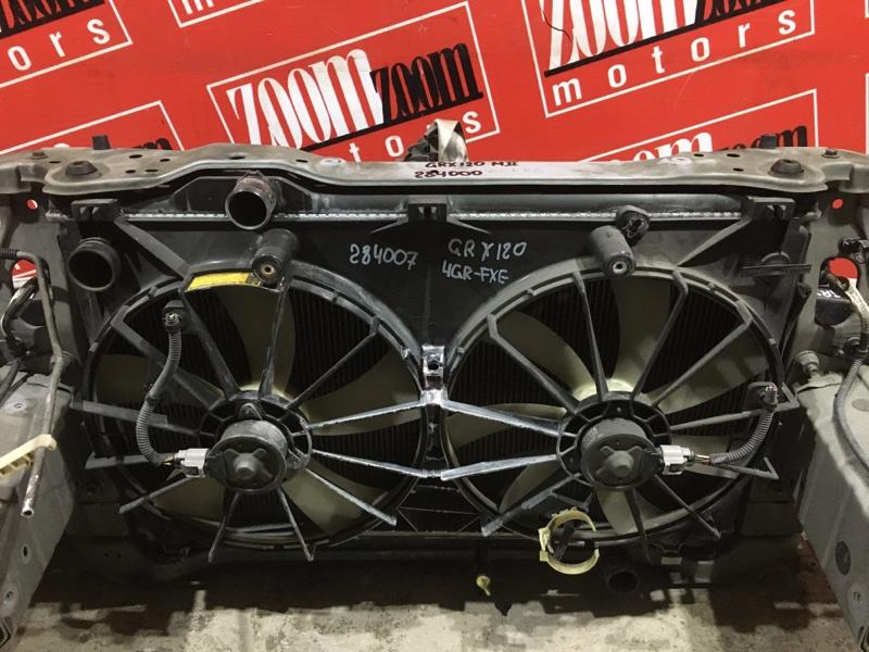 Радиатор двигателя Toyota Mark X GRX120 4GR-FSE 2004 передний