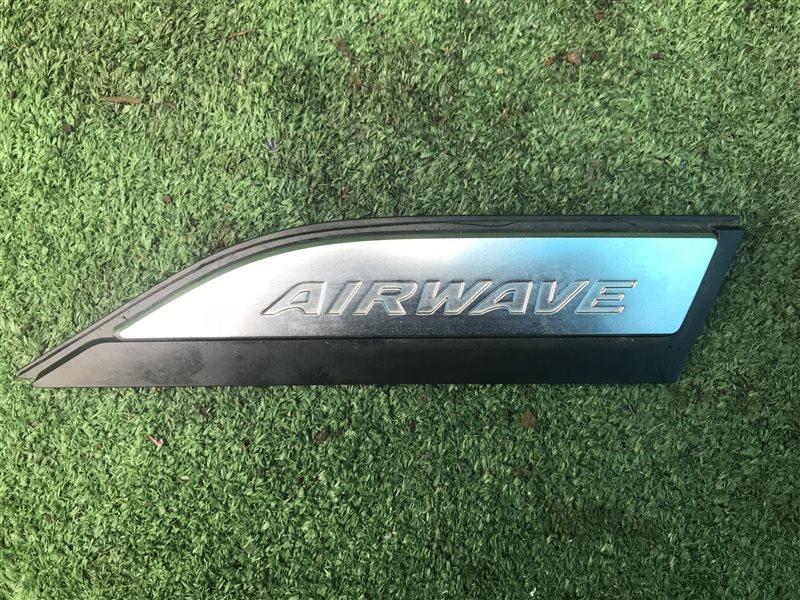 Эмблема Honda Airwave GJ1 L15A 2005 передняя