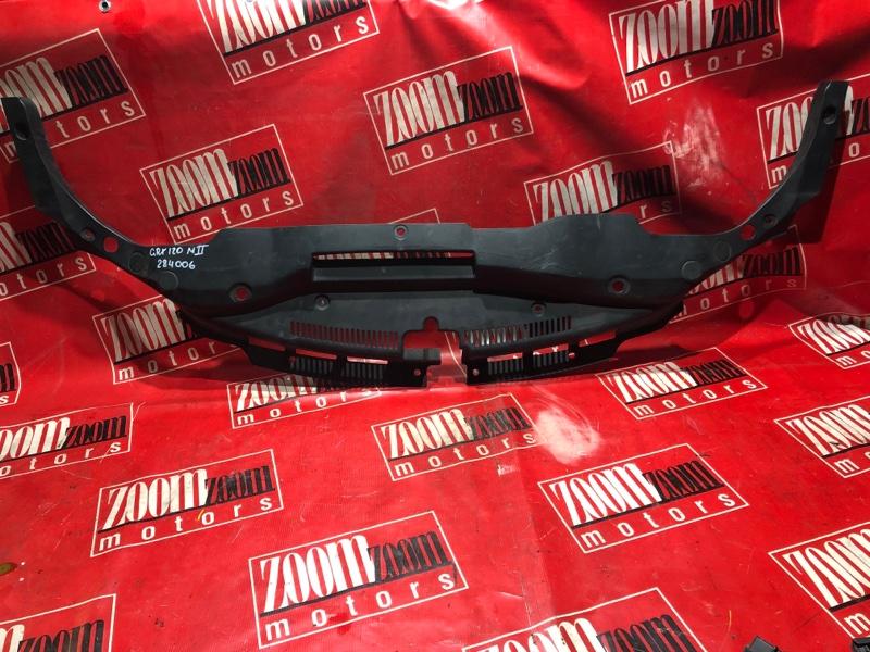 Накладка на решетку радиатора Toyota Mark X GRX120 4GR-FSE 2004 передняя