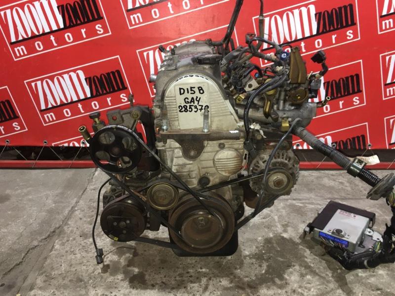 Двигатель Honda Capa GA4 D15B 1998 3269342