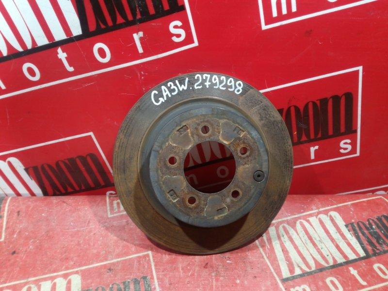 Диск тормозной Mitsubishi Asx GA3W 4B10 2010 задний