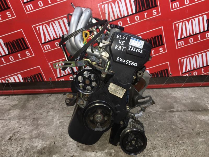 Двигатель Toyota Corsa EL51 4E-FE 1994 2445560