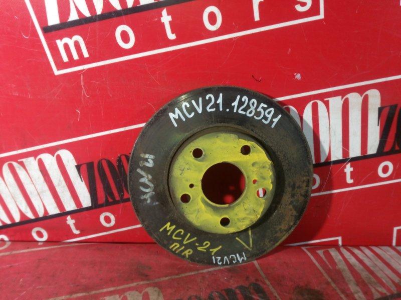 Диск тормозной Toyota Mark Ii Qualis MCV21 1MZ-FE 1997 передний