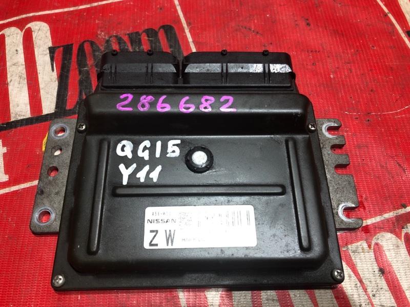 Компьютер (блок управления) Nissan Wingroad WFY11 QG15DE 2002 A56-W23 BW5 4126