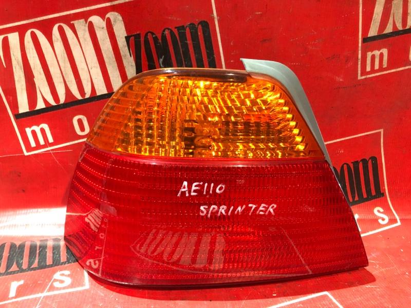 Фонарь (стоп-сигнал) Toyota Sprinter AE110 5A-FE 1997 задний левый 18-36
