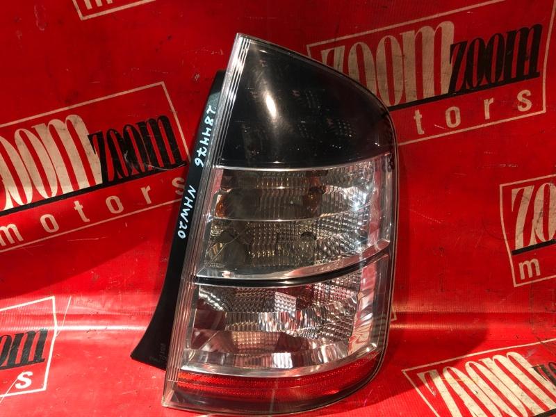 Фонарь (стоп-сигнал) Toyota Prius NHW20 1NZ-FXE 2005 задний правый 47-13