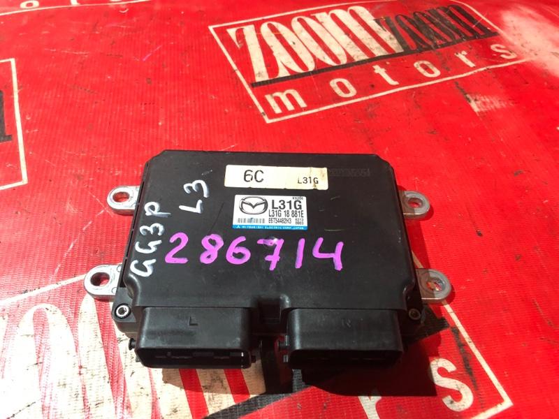 Компьютер (блок управления) Mazda Atenza GG3P L3-VE 2002 L31G 18 881E E6T54482H3