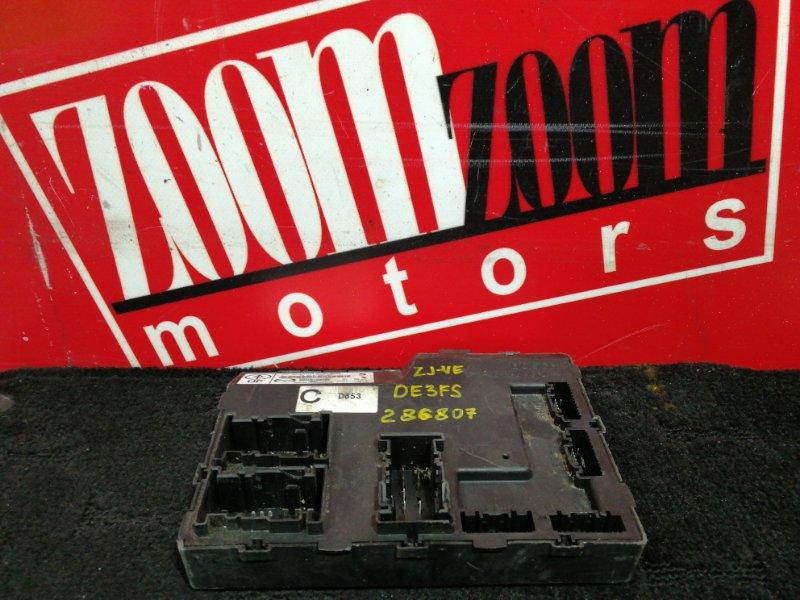 Компьютер (блок управления) Mazda Demio DE3FS ZJ-VE 2007 DL4067560C