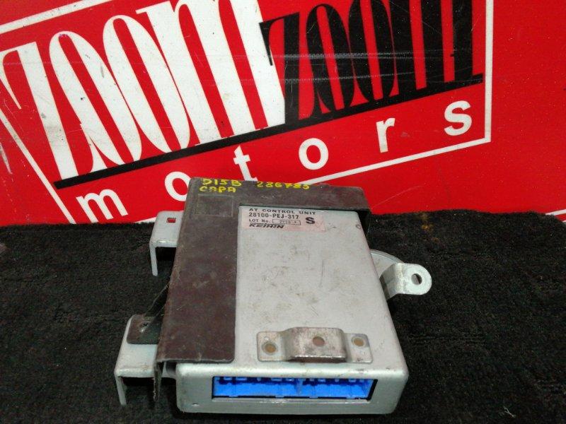 Блок управления кпп Honda Capa GA4 D15B 1998 28100-pej-317