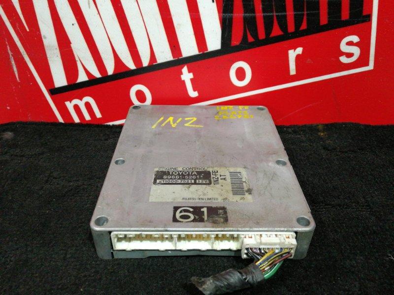 Компьютер (блок управления) Toyota Platz NCP12 1NZ-FE 1999 89661-5261