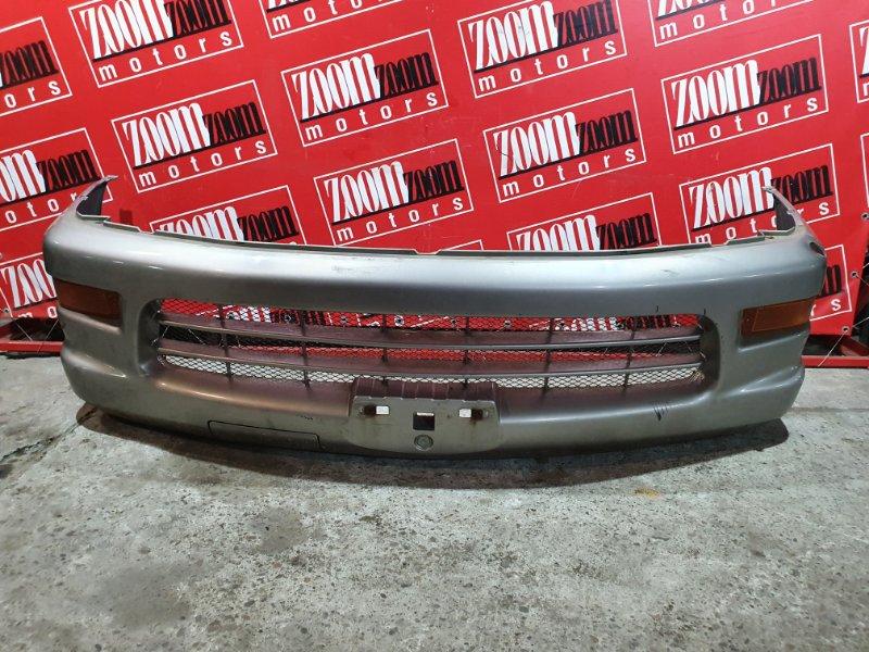 Бампер Mitsubishi Delica PA4W 4G64 1997 передний серый
