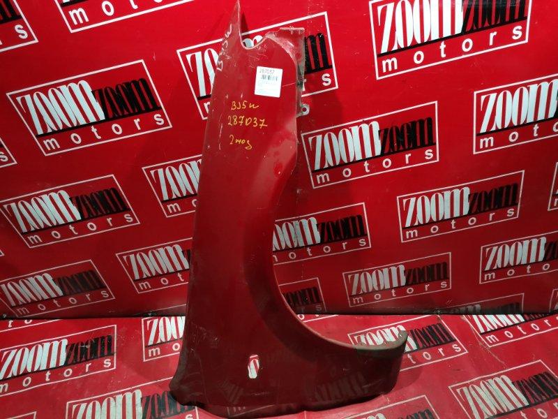 Крыло Mazda Familia BJ5W ZL-DE 2000 переднее правое красный