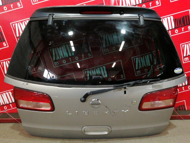 Дверь задняя багажника Nissan Liberty RM12 QR20DE 2001 золото