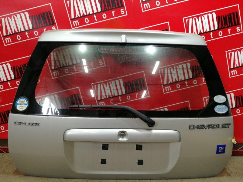 Дверь задняя багажника Chevrolet Cruze HR52S M13A 2000 серебро
