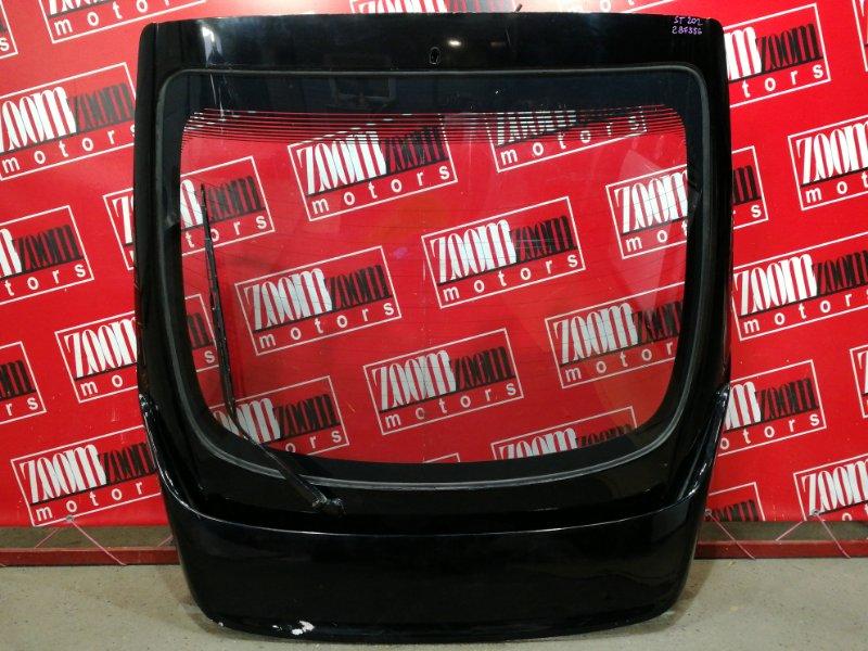 Дверь задняя багажника Toyota Celica ST202 3S-FE 1993 черный