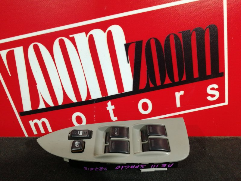 Блок управления стеклоподъемниками Toyota Corolla Spacio AE111N 4A-FE 1997 правый