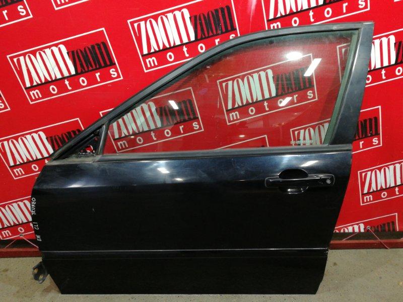 Дверь боковая Honda Torneo CL1 H22A 1997 передняя левая черный