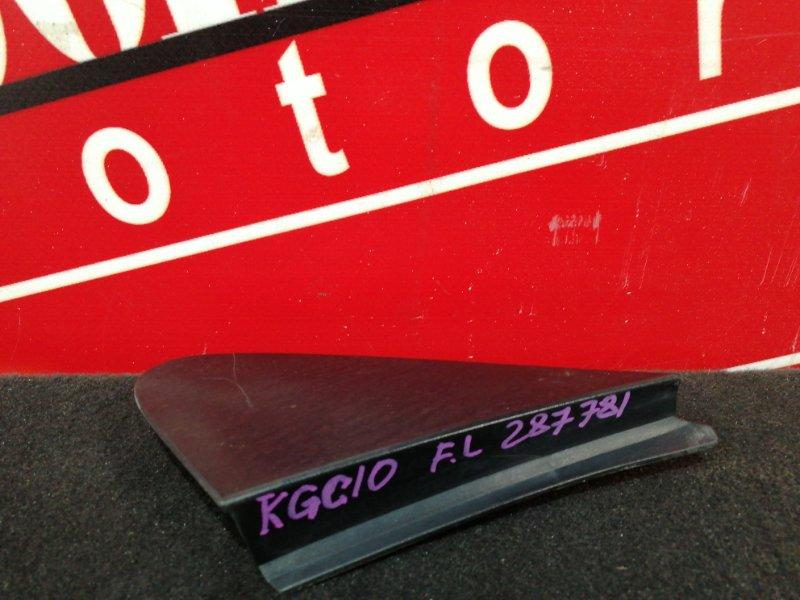 Накладка на крыло Toyota Passo KGC10 1KR-FE 2004 передняя левая