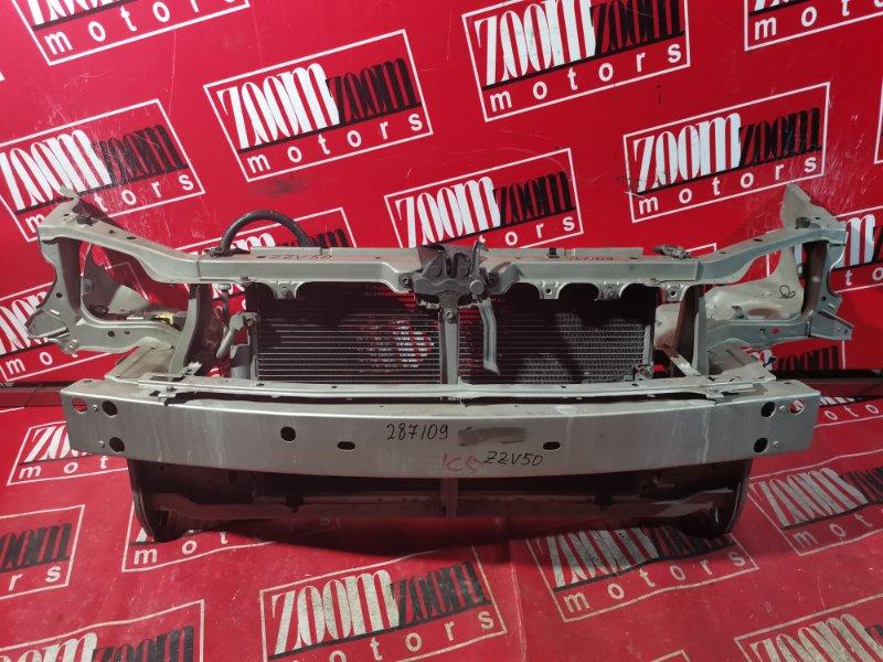 Рамка радиатора Toyota Vista Ardeo SV50 3S-FSE 1998 передняя серебро
