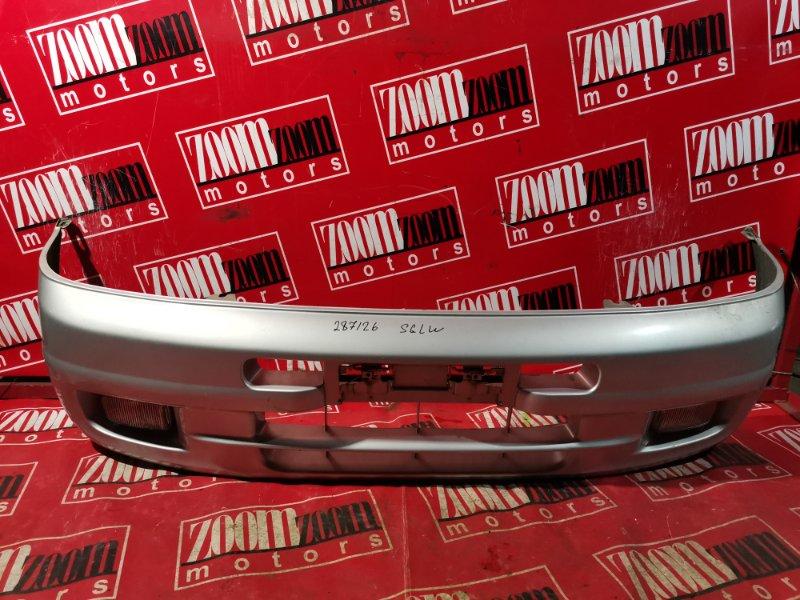 Бампер Mazda Bongo Friendee SGLW WL-T 1995 передний серебро