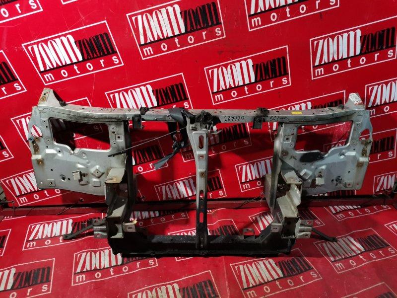 Рамка радиатора Mazda Bongo Friendee SGLW WL-T 1995 передняя серебро