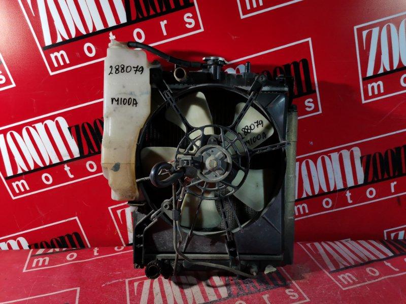 Радиатор двигателя Toyota Duet M100A EJ-DE 1998