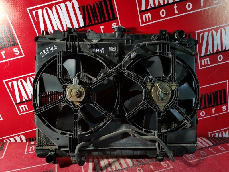 Радиатор двигателя Nissan Liberty PM12 SR20DE 1998