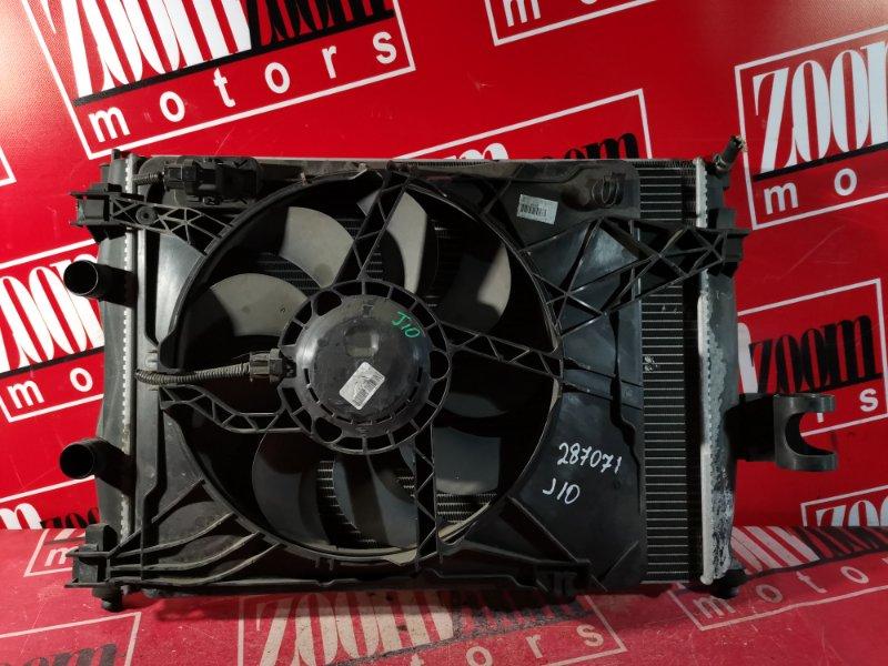 Радиатор двигателя Nissan Qashqai J10 MR20DE 2006