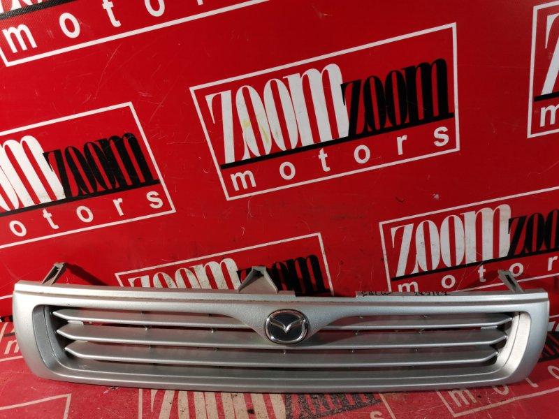Решетка радиатора Mazda Bongo Friendee SGLW WL-T 1995 передняя серебро