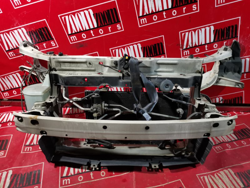 Рамка радиатора Toyota Succeed NLP51 1ND-TV 2002 белый